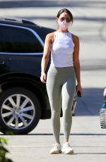 EIZA GONZALEZ Out Hiking in Los Angeles 02/28/2021