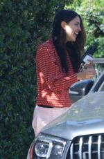 EIZA GONZALEZ Outside Her Home in Los Angeles 03/02/2021