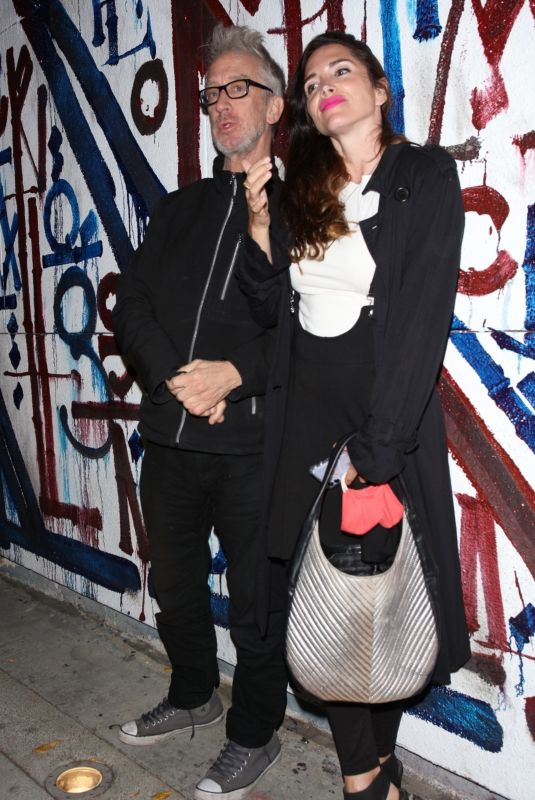 ELISA JORDANA and Andy Dick at Craig's in West Hollywood 03/10/2021