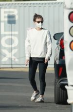 ELLEN POMPEO Out at Griffith Park in Los Feliz 03/02/2021