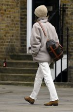 EMILIA CLARKE Out and About in London 03/16/2021