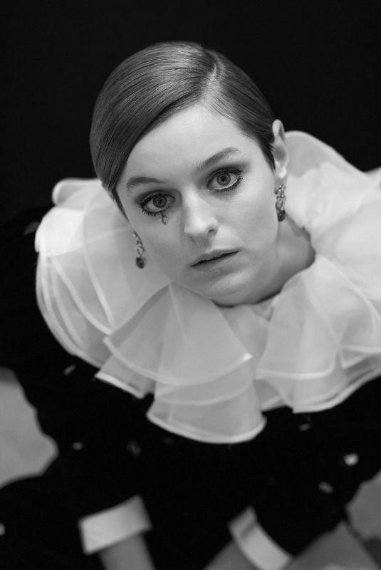EMMA CORRIN - 2021 Golden Globes Photoshoot