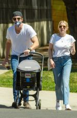 EMMA ROBERTS and Garret Hedlund Out in Hollywood 03/28/2021