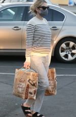 EMMA ROBERTS Out Shopping at Bristol Farms in Beverly Hills 03/01/2021