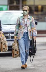 EMMA ROBERTS Out Shopping in Beverly Hills 03/15/2021