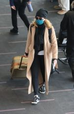 FELICITY HUFFMAN at LAX Airport in Los Angeles 03/09/2021