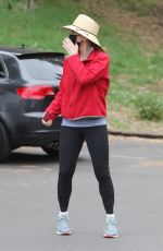 FELICITY HUFFMAN Out at a Park in Studio City 03/07/2021
