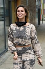 FERNE MCCANN Arrives at Steph;s Packed Lunch Show in Leeds03/25/2021