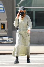 FKA TWIGS Out and About in New York 03/26/2021