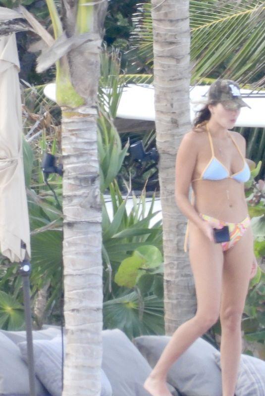 FRANCESCA AIELLO in Bikini at a Beach in Tulum 03/14/2021