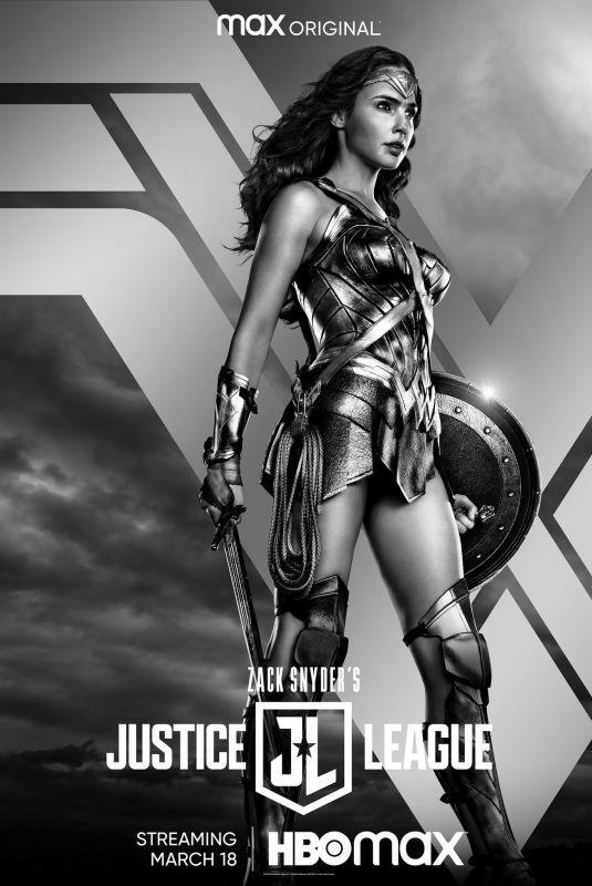 GAL GADOT - Justice League Poster, 2021