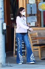 GEENA DAVIS Out and About in Los Angeles 03/22/2021