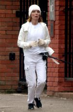 GERI HALLIWELL Out Jogging in London 03/10/2021