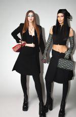 GIGI HADID at Versace Fall/Winter 2021 Fashion Show in Milan 03/05/2021
