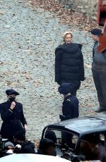 GILLIAN ANDERSON on the Set of White Bird: A Wonder Story 30/03/2021