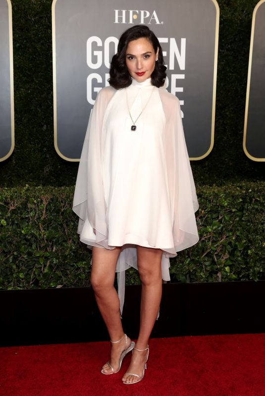 GLA GADOT at 78th Annual Golden Globe Awards in Beverly Hills 02/28/2021