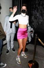 HANNAH STOCKING at Catch LA in West Hollywood 03/26/2021