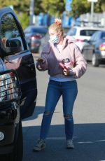 HEIDI MONTAG Leaves a Skin Salon in Santa Monica 03/02/2021