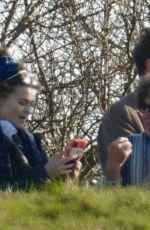 HELENA BONHAM CARTER and Rye Dag Golmboe Out London 03/22/2021