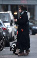 HELENA BONHAM CARTER Out in London 03/27/2021