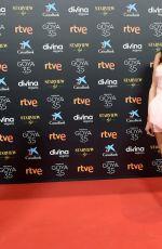 HIBA ABOUK at Goya Cinema Awards 2021 in Malaga 03/06/2021