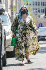 HILARY DUFF Out Shopping in Beverly Hills 03/23/2021