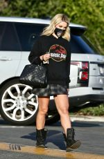 HOLLY MADISON Out in Los Feliz 03/04/2021