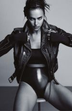 IRINA SHAYK in The Sunday Times Style, March 2021