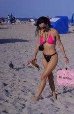 IVA KOVACEVIC in Bikini at a Beach in Miami 03/05/2021