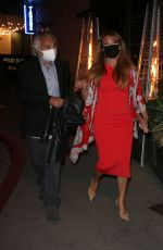 JANE SEYMOUR and David Green Night Out in Los Angeles 03/27/2021