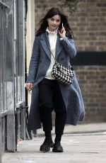 JENNA LOUISE COLEMAN Out and About in London 03/03/2021