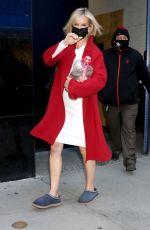 JENNIFER ASHTON Leaves Good Morning America in New York 03/03/22021