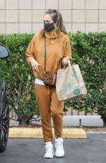 JESSICA ALBA Out and About in Beverly Hills 03/07/2021