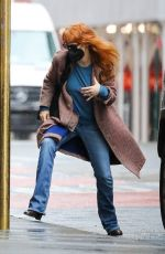 JESSICA CHASTAIN Out on Her 44th Birthday in New York 03/24/2021