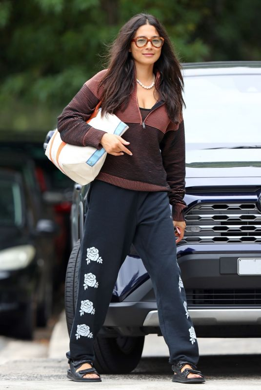 JESSICA GOMES at Dancing With The Stars Rehersal 03/16/2021