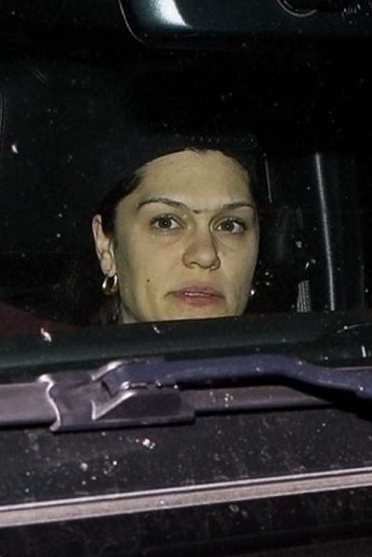 JESSIE J Out Driving in Studio City 03/02/2021