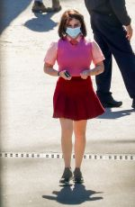 JOEY KING on the Set of Bullet Train in Los Angeles 03/03/2021