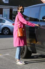 JORDANA BREWSTER Leaves Country Mart in Brentwood 03/22/2021