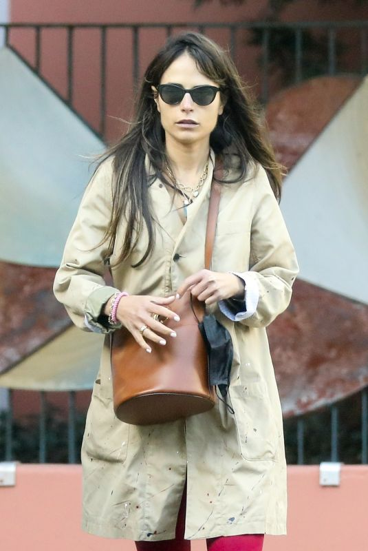 JORDANA BREWSTER Out and About in Santa Monica 03/23/2021