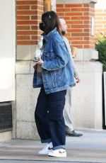 KACEY MUSGRAVES in Double Denim Out in New York 03/25/2021