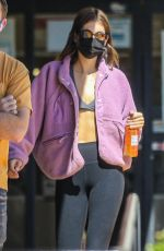 KAIA GERBER Out and About in Beverly Hills 03/17/2021