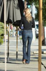 KATE BOSWORTH at a Hair Salon in Los Angeles 02/25/2021