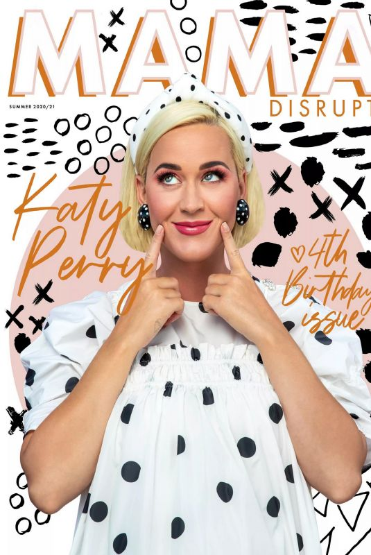 KATY PERRY in Mama Disrupt Magazine, Summer 2021