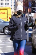 KELLY BENSIMON Out Jogging in New York 03/02/2021