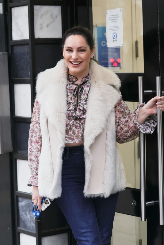KELLY BROOK at Heart Radio in London 03/26/2021