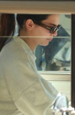 KENDALL JENNER and HAILEY BIEBER Out for Pilates Class in Los Angeles 03/05/2021