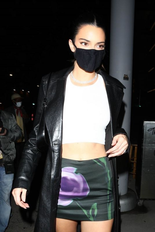 KENDALL JENNER at Nice Guy in West Hollywood 03/25/2021