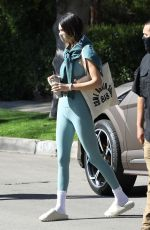 KENDALL JENNER Heading to Morning Pilates Class in West Hollywood 03/27/2021