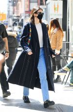 KENDALL JENNER Out and About in New York 03/22/2021