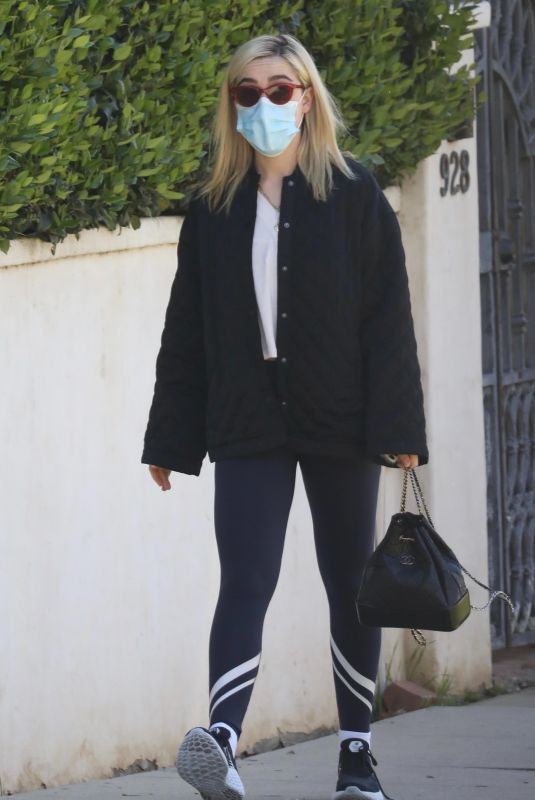 KIERNAN SHIPKA Heading to a Gym in Beverly Hills 03/05/2021